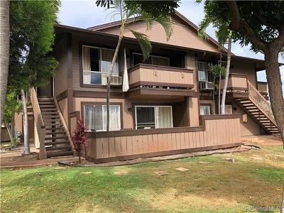Ewa Beach Condo/Townhouse For Sale: 91-1069 Puamaeole Street #6D