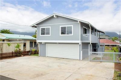 Kailua HI Single Family Home For Sale: $1,150,000