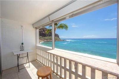 Waianae Condo/Townhouse For Sale: 84-965 Farrington Highway #B317