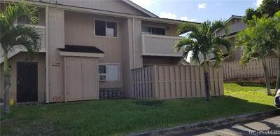 Waipahu Condo/Townhouse In Escrow Showing: 94-1016 Kaukahi Place #J4