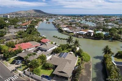 Honolulu County Single Family Home For Sale: 6695 Hawaii Kai Drive