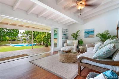 Kailua Single Family Home For Sale: 1312 Mokapu Boulevard