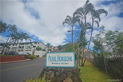 Aiea Condo/Townhouse In Escrow Showing: 98-660 Moanalua Loop #286