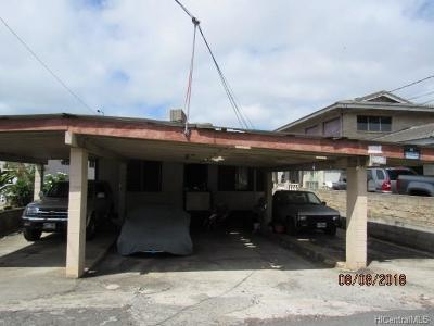 Honolulu Single Family Home In Escrow Showing: 2003 Uhu Street
