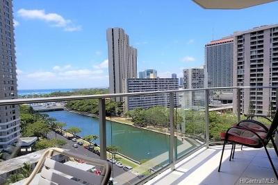 Honolulu Condo/Townhouse For Sale: 1645 Ala Wai Boulevard #1205