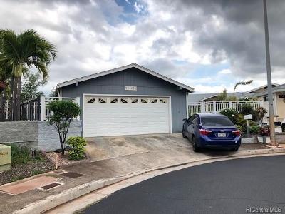 Waipahu Single Family Home For Sale: 94-174 Kehela Place