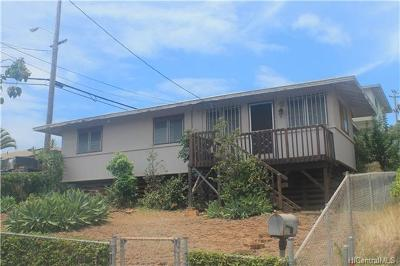 Honolulu Single Family Home For Sale: 3658 Likini Street