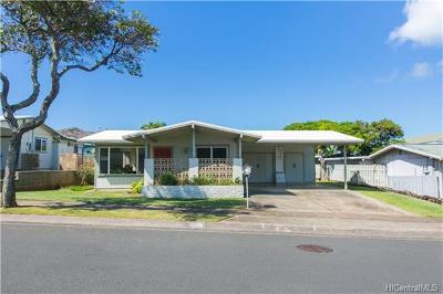 Honolulu Single Family Home For Sale: 518 Kaumakani Street