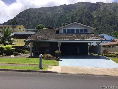 Kaneohe Single Family Home For Sale: 47-574 Hui Iwa Street