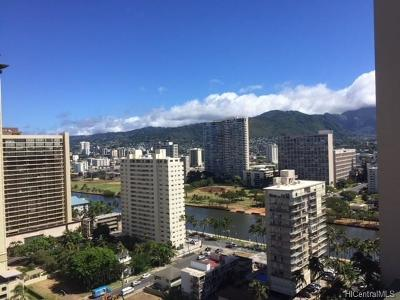 Honolulu Condo/Townhouse For Sale: 2140 Kuhio Avenue #2112