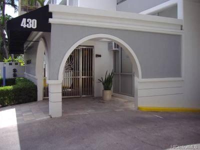 Honolulu Condo/Townhouse For Sale: 430 Kaiolu Street #407