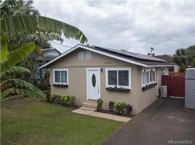 Waialua Single Family Home For Sale: 66-345 Kaamooloa Road #F