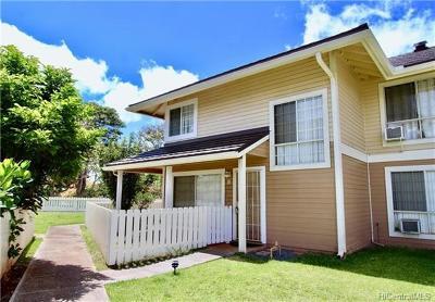 Waipahu Condo/Townhouse For Sale: 94-1449 Waipio Uka Street #K107
