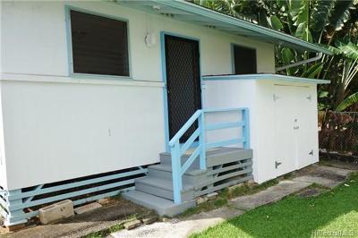 Honolulu, Kailua, Waimanalo, Honolulu, Kaneohe Rental For Rent: 540 Ekekela Place #A