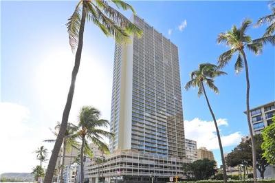 Honolulu, Kailua, Waimanalo, Honolulu, Kaneohe Condo/Townhouse For Sale: 445 Seaside Avenue #2816