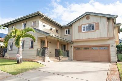kapolei Single Family Home For Sale: 92-137 Hihialou Place