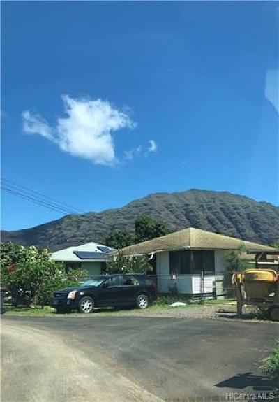 Honolulu County Single Family Home For Sale: 84-1128 Hana Street
