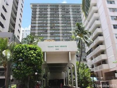 Honolulu Condo/Townhouse For Sale: 2440 Kuhio Avenue #512