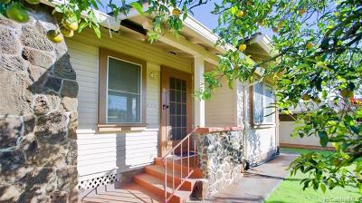 Wahiawa Single Family Home In Escrow Showing: 1234 Kaala Avenue