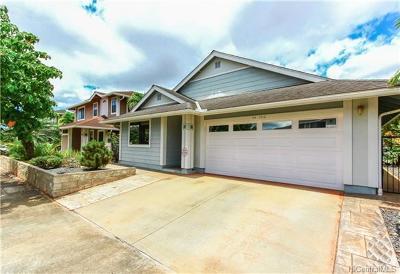 Single Family Home For Sale: 94-1018 Halehau Street #85