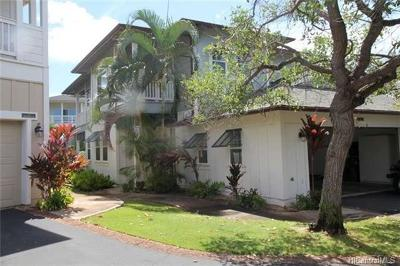 Honolulu County Condo/Townhouse For Sale: 92-1104 Olani Street #17-1