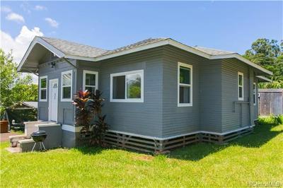Wahiawa HI Single Family Home For Sale: $635,000