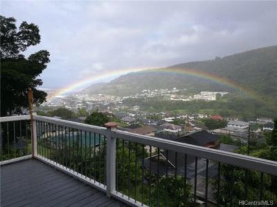 Honolulu Single Family Home For Sale: 3066 Papali Street