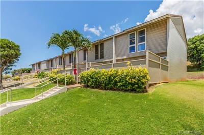 Kapolei Condo/Townhouse For Sale: 92-799 Makakilo Drive #H46