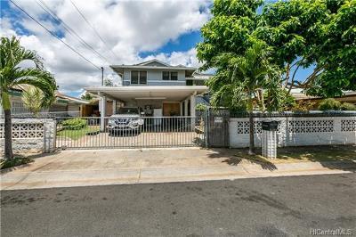 Single Family Home For Sale: 94-1222 Kahuaina Street