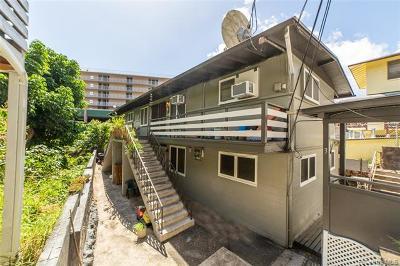 Honolulu Multi Family Home For Sale: 1641 Stillman Lane