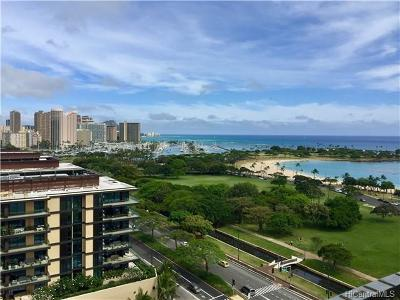 Condo/Townhouse For Sale: 1350 Ala Moana Boulevard #1704
