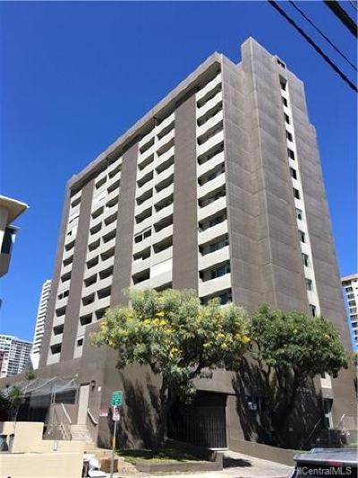 Honolulu Condo/Townhouse For Sale: 824 Kinau Street #1001