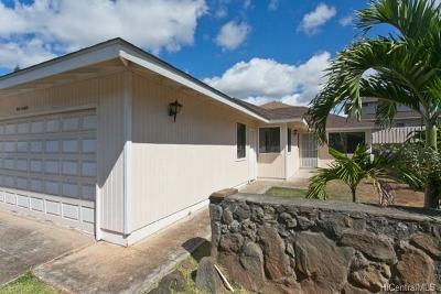 Ewa Beach Single Family Home For Sale: 91-1069 Opaehuna Street