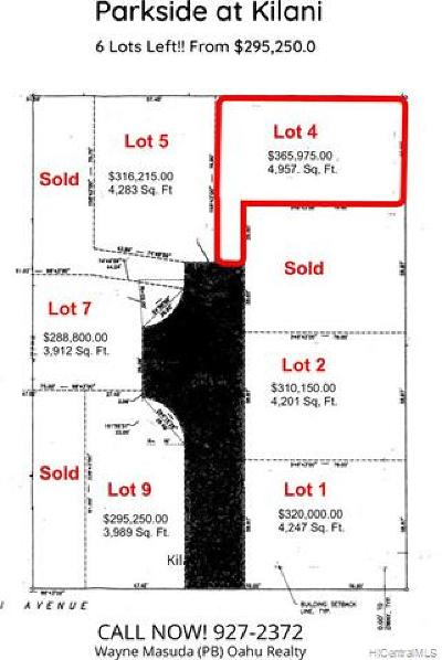 Residential Lots & Land For Sale: 1106 Kilani Avenue #4