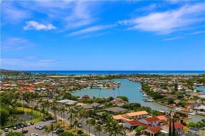 Honolulu County Condo/Townhouse In Escrow Showing: 6770 Hawaii Kai Drive #1203