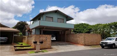 Mililani Single Family Home For Sale: 94-403 Kauopua Street