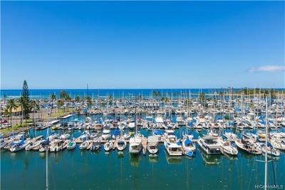 Honolulu Condo/Townhouse For Sale: 1765 Ala Moana Boulevard #784