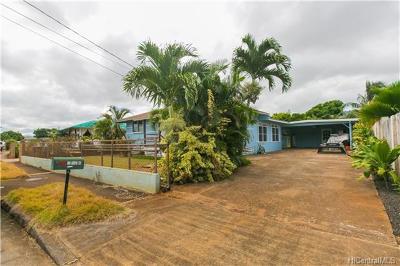 Waialua Single Family Home For Sale: 67-234 Kanalu Street