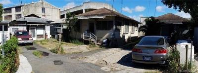 Honolulu Multi Family Home For Sale: 915/915c/916c Eu Lane