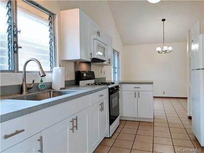 Aiea Single Family Home In Escrow Showing: 98-501 Kiliohu Loop #21