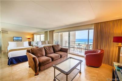 Honolulu Condo/Townhouse For Sale: 1777 Ala Moana Boulevard #1502