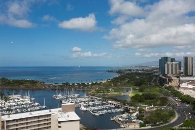 Honolulu Condo/Townhouse For Sale: 1551 Ala Wai Boulevard #2804