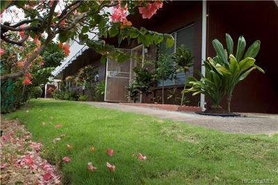 Honolulu County Condo/Townhouse For Sale: 3227 Ala Ilima Street #3227/2