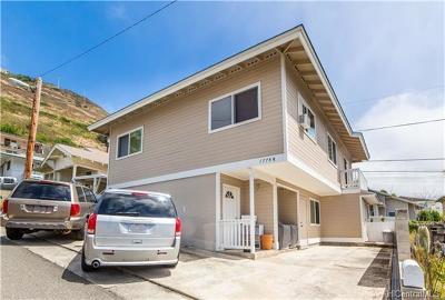 Honolulu HI Single Family Home For Sale: $990,000