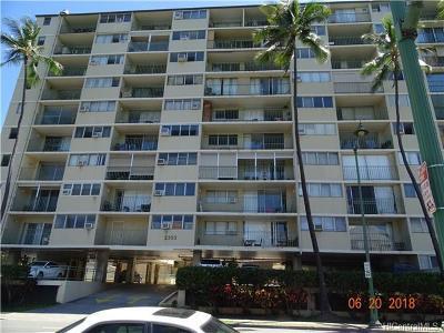 Honolulu Condo/Townhouse For Sale: 2355 Ala Wai Boulevard #201