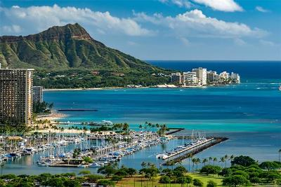 Diamond Head, Ewa Plain, Hawaii Kai, Honolulu County, Kailua, Kaneohe, Leeward Coast, Makakilo, Metro Oahu, North Shore, Pearl City Condo/Townhouse For Sale: 1118 Ala Moana Boulevard #3600