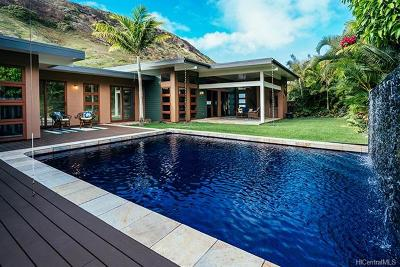 Honolulu County Single Family Home For Sale: 7912 Hawaii Kai Drive