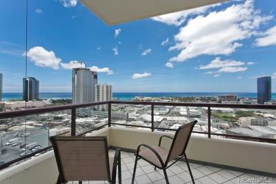 Hawaii County, Honolulu County Condo/Townhouse For Sale: 725 Kapiolani Boulevard #2202