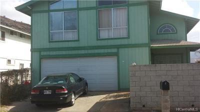 Waianae Single Family Home For Sale: 86-932 Moelima Street