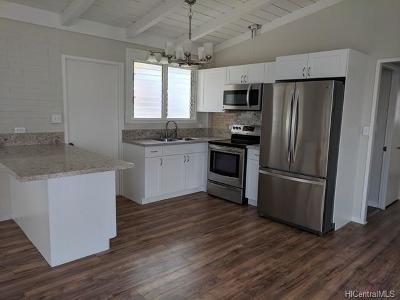 Waianae Single Family Home For Sale: 85-549 Momona Place